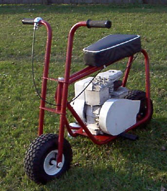 ... offspring joined in the minibike craze that started in the late 1960s.